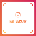 NativeCamp.のInstagram用NameTag